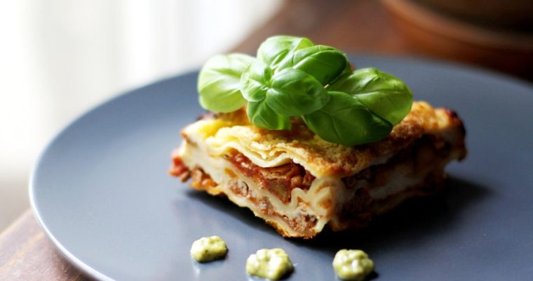 Classic Lasagna with meat