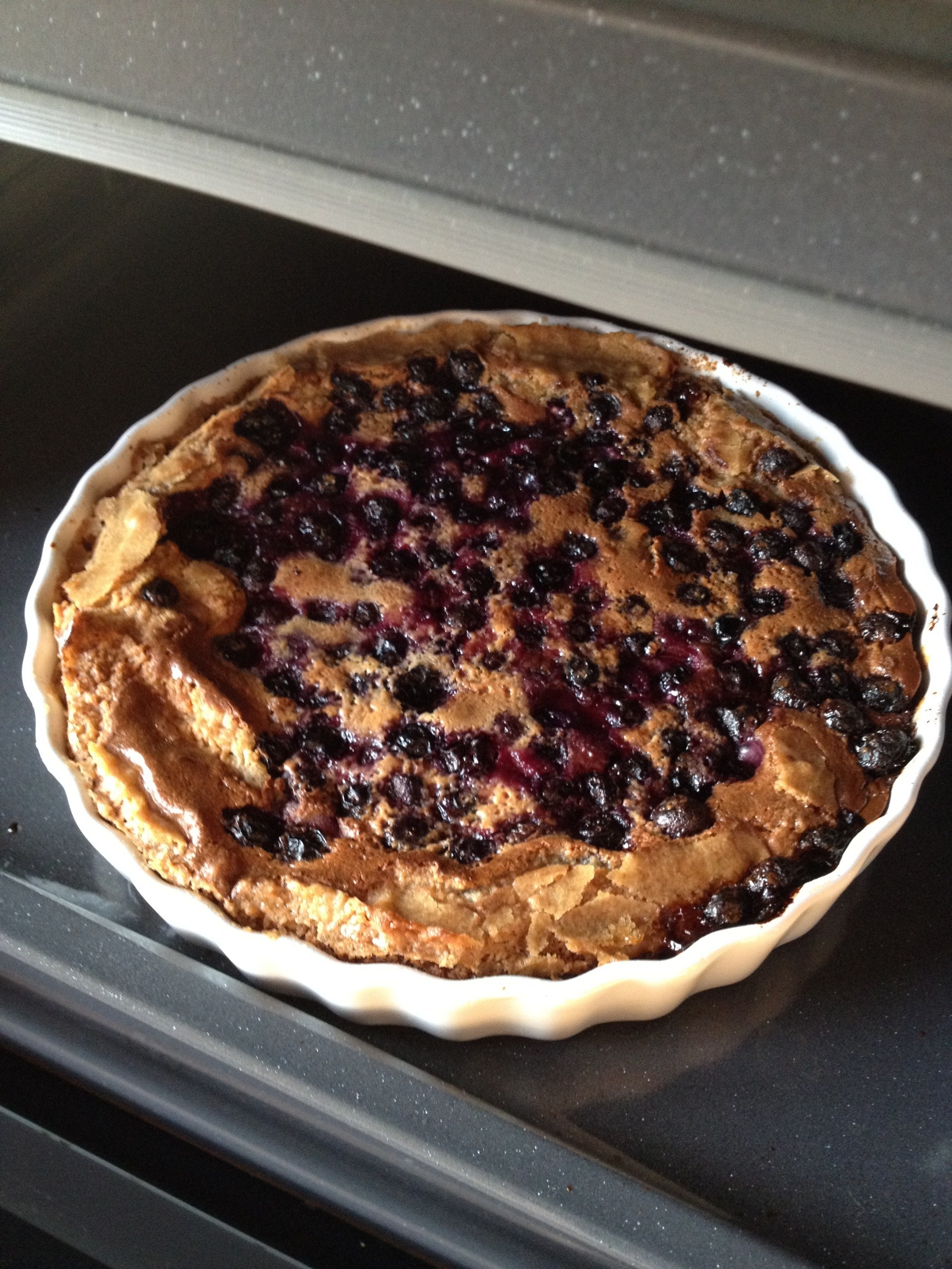Finnish Blueberry Pie