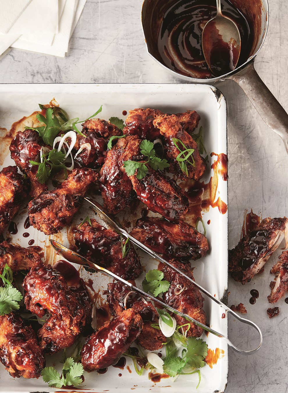 Chicken wings with tamarind