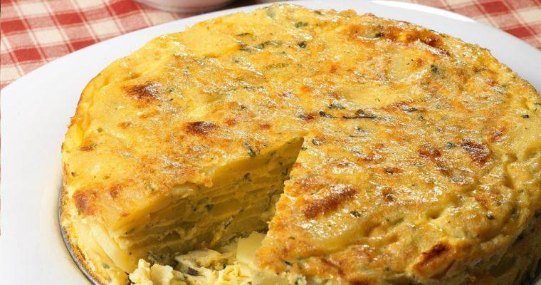 Tortilla with cilantro