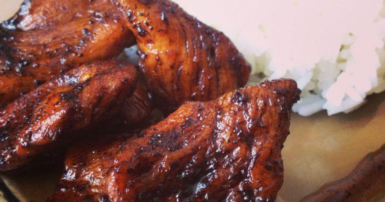 Chicken in balsamic caramel