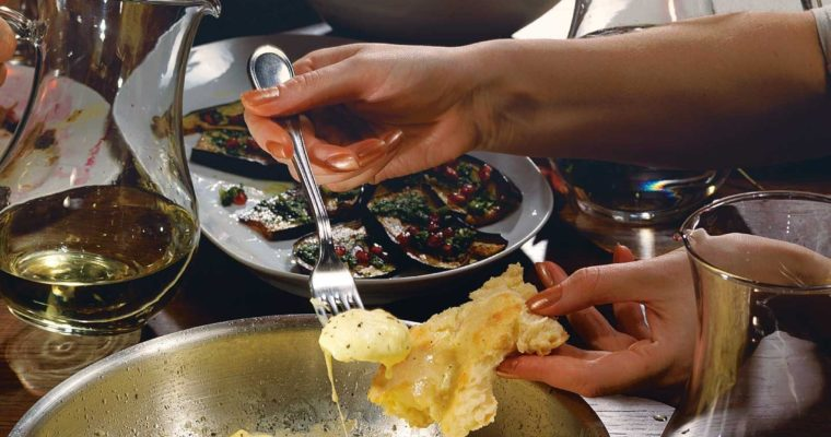 Fried Suluguni