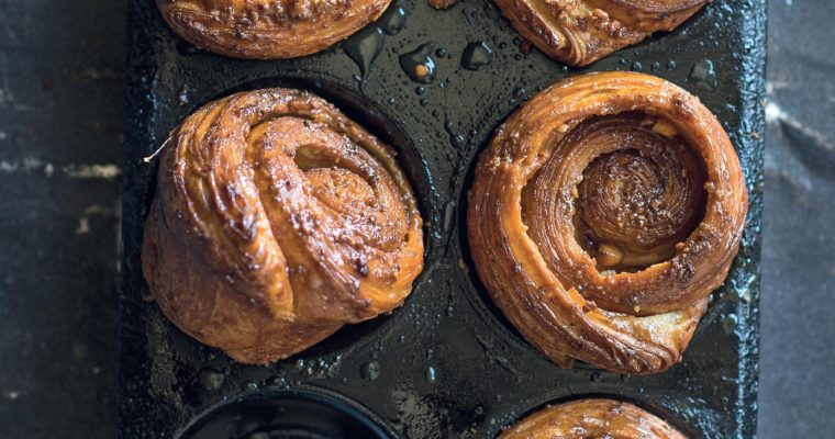 Morning Buns with Almonds