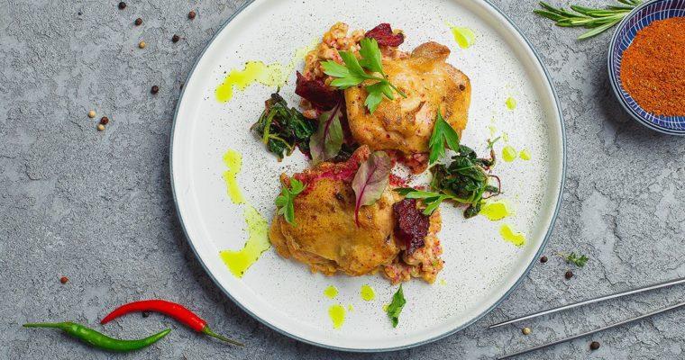 Chicken with spelt