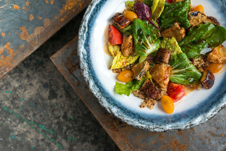 Crispy Eggplant Salad