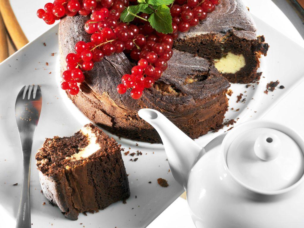 Chocolate Cake with Mascarpone
