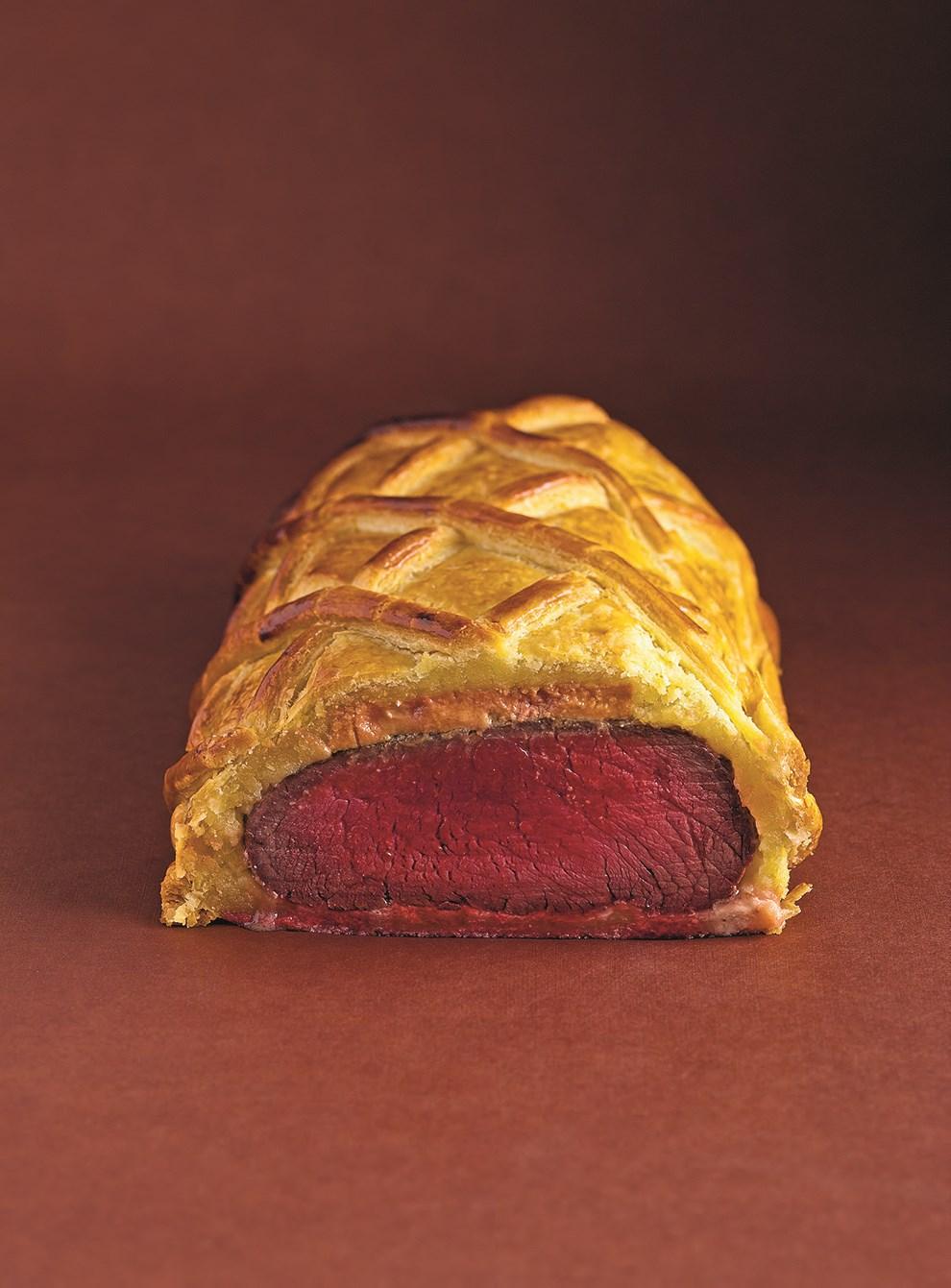 Beef Wellington With Foie Gras