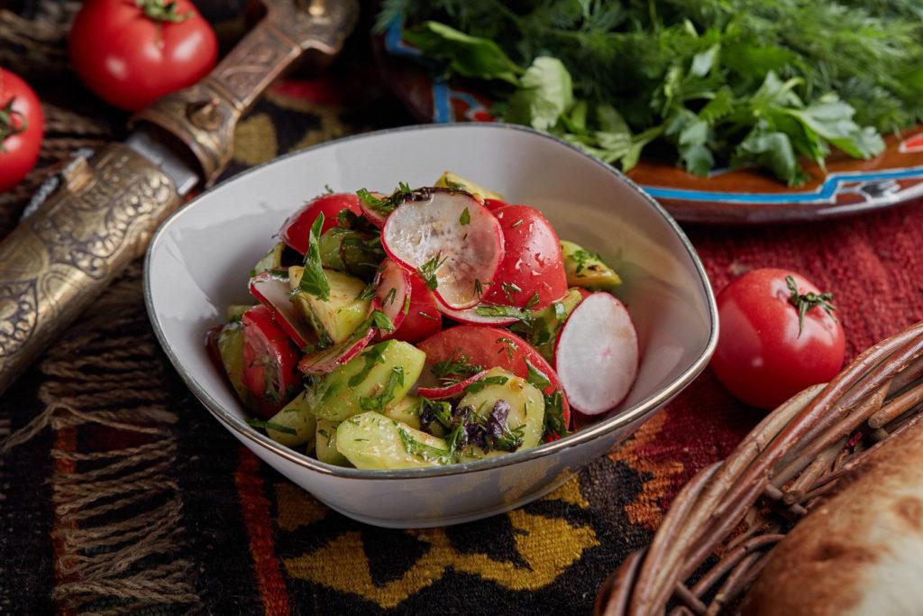 Mingrelian vegetable salad