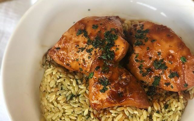 Honey Garlic Slow Cooker Chicken