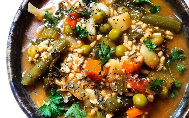 Cozy & Hearty Fall Veggie soup