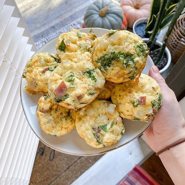 Potato & Smoked Cheddar Egg Muffins