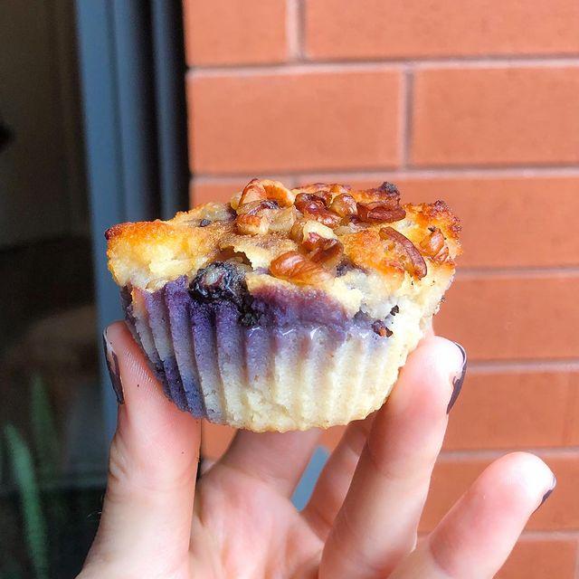 Blueberry Walnut Breakfast Muffins