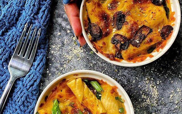 Gourmet Mushroom Mac n Cheese