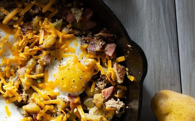 High Protein Breakfast Skillet