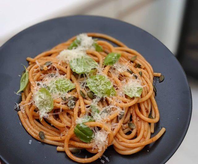 Anchovy Garlic Pasta