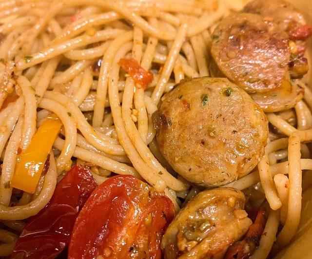 Italian Spicy Sausage Pasta
