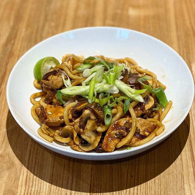 Thiccc Peanut And Ginger Chicken Noodles