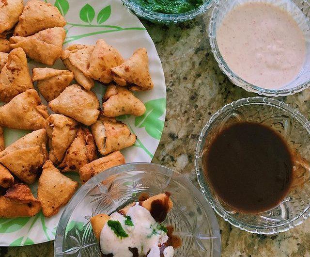 Mini Punjab Potato Samosas