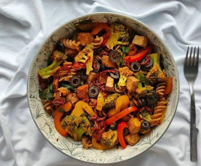 Mediterranean Vegan Pasta